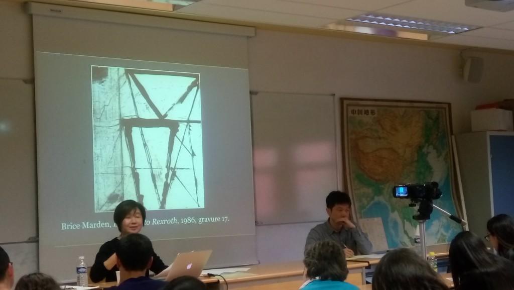 Mme LIU Chiao-mei , maître de conférences en Histoire de l'art à l'Université nationale de Taiwan