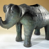 """Vase en bronze """"zun"""" (dynastie Shang)"""