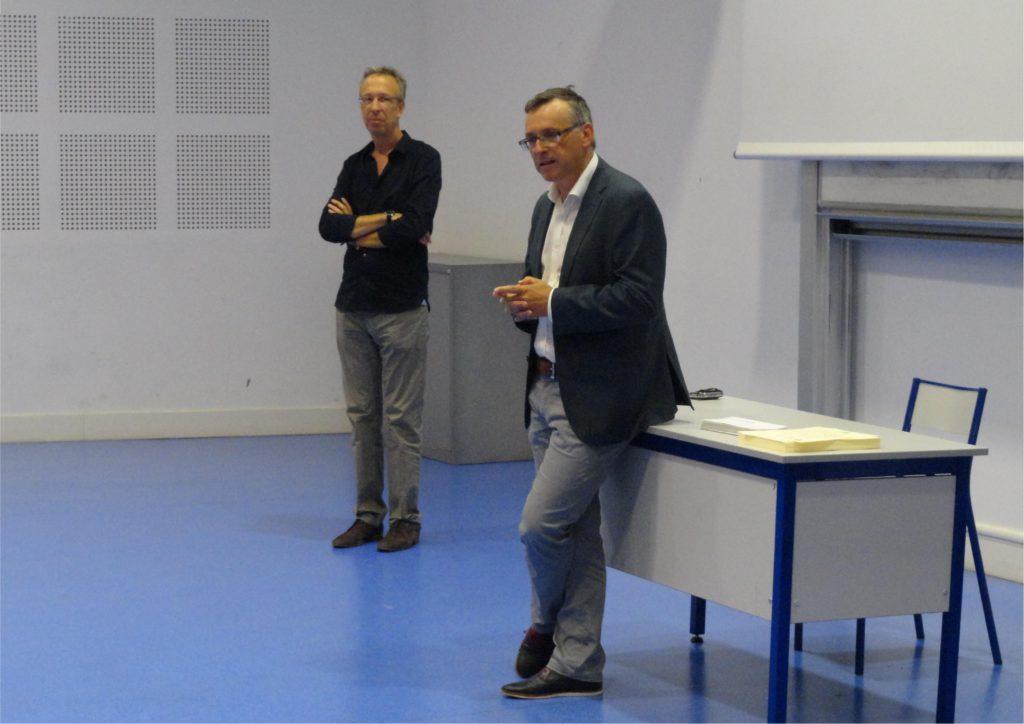 Discours d'ouverture de la cérémonie de M. Patrick Gilli, Président de l'Université Paul-Valéry Montpellier 3, et de M. Claude Chastagner, directeur du Master LEA