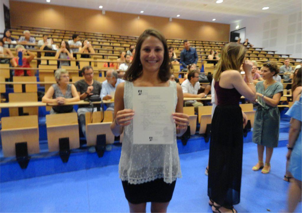 Leslie, ancienne étudiante de Master LEA NPI anglais-chinois