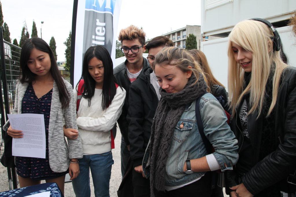 ... les étudiants aussi ont apprécié !
